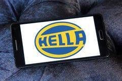 Логотип компании Hella Стоковое Фото