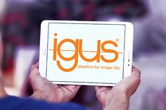 Логотип компании Igus Стоковое Фото