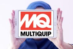 Логотип компании Multiquip Стоковое Изображение RF