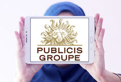 Логотип компании Publicis Groupe Стоковые Фотографии RF