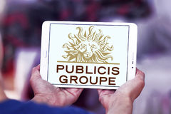 Логотип компании Publicis Groupe Стоковые Фото