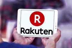 Логотип компании Rakuten Стоковая Фотография