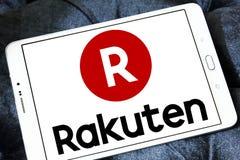 Логотип компании Rakuten Стоковые Фотографии RF