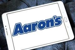 Логотип компании ` s Аарона Стоковое Фото