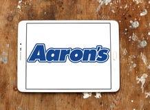 Логотип компании ` s Аарона Стоковая Фотография RF