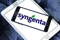 Логотип компании Syngenta стоковое изображение