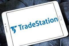 Логотип компании TradeStation Стоковое фото RF