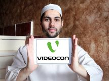 Логотип компании Videocon Стоковые Изображения