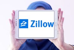 Логотип компании Zillow Стоковое Фото