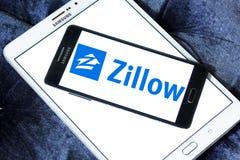Логотип компании Zillow Стоковое Изображение