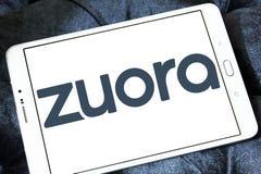 Логотип компания-разработчика программного обеспечения Zuora Стоковые Фото