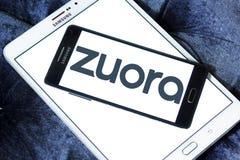 Логотип компания-разработчика программного обеспечения Zuora Стоковое фото RF