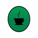 Логотип кофе Стоковая Фотография