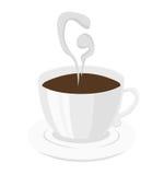 Логотип кофе Стоковое Изображение