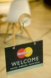 Логотип кредитной карточки Mastercard Стоковая Фотография RF
