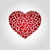 Логотип крови сердца Стоковая Фотография