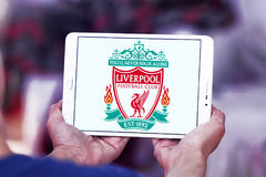 Логотип клуба футбола Ливерпуля Стоковая Фотография RF