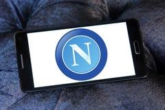 Логотип клуба футбола Неаполя Стоковое Изображение RF