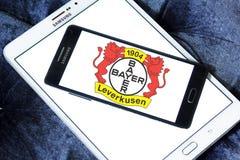 Логотип клуба футбола Bayer Леверкузена Стоковое фото RF