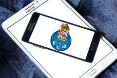 Логотип клуба футбола Fc Порту Стоковые Изображения