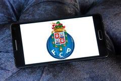 Логотип клуба футбола Fc Порту Стоковые Фотографии RF