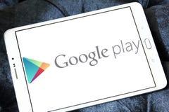 Логотип магазина игры Google Стоковое Изображение