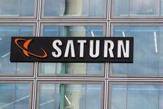 Логотип магазина Сатурна Стоковая Фотография RF
