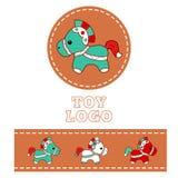 Логотип 1 магазина Стоковые Изображения