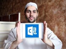Логотип менеджера клиента внешнего вида Стоковое Изображение RF