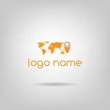 Логотип мира Стоковое Изображение