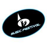 Логотип музыки Стоковые Изображения RF