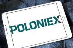Логотип обменом Poloniex Стоковое Фото