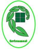 Логотип окружающей среды стоковая фотография
