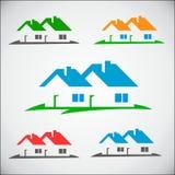 Логотип дома Стоковое фото RF