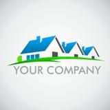 Логотип дома Стоковое Фото