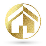 Логотип дома Стоковые Изображения RF