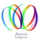 Логотип от абстрактных кругов в форме спирали бесплатная иллюстрация