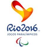 Логотип должностного лица Рио игры Paralympic
