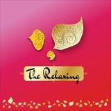 Логотип о расслабляющем дизайн-векторе Стоковая Фотография