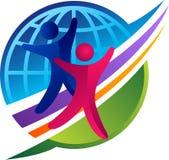 Логотип пар глобуса Стоковая Фотография