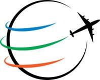 Логотип перемещения Стоковое Изображение
