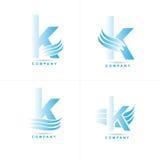 Логотип письма k Стоковые Изображения
