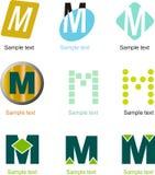 Логотип письма m бесплатная иллюстрация
