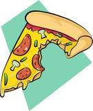 Логотип пиццы Стоковые Изображения