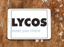 Логотип поисковой системы сети Lycos Стоковое Фото