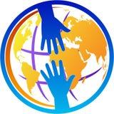 Логотип помощи Стоковое Изображение RF