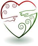 Логотип помощи иллюстрация вектора