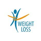 Логотип потери веса Стоковые Изображения RF