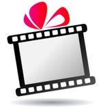 Логотип подарка прокладки фильма бесплатная иллюстрация