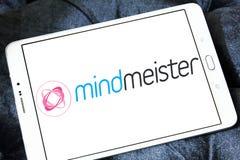 Логотип применения отображения разума MindMeister Стоковое Изображение RF